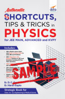 Pdf (Free Sample) Authentic SHORTCUTS, TIPS & TRICKS in PHYSICS for JEE Main, Advanced & KVPY