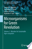 Microorganisms For Green Revolution Book PDF