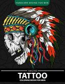 Amazing Tattoo Coloring Book for Men