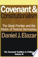 Covenant and Constitutionalism