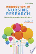 """Introduction to Nursing Research: Incorporating Evidence-Based Practice"" by Carol Boswell, Sharon Cannon"