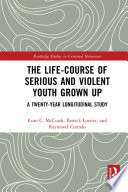 The Life Course Of Serious And Violent Youth Grown Up