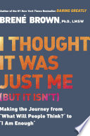 """""""I Thought It Was Just Me (but it isn't): Making the Journey from"""