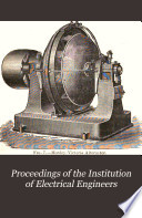 Proceedings of the Institution of Electrical Engineers Book