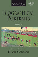Britain and Japan  Biographical Portraits