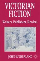 Victorian Fiction  Writers  Publishers  Readers