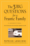 The 3 Big Questions for a Frantic Family [Pdf/ePub] eBook