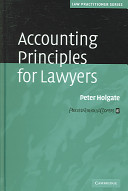 Accounting Principles for Lawyers Book