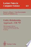 Entity Relationship Approach Er 93 Book PDF