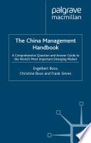 The China Management Handbook