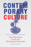 Contemporary culture: new directions in arts and humanities research