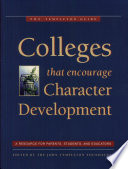Colleges That Encourage Character Development