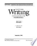NAEP     Writing Report for Nebraska