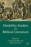 Disability Studies and Biblical Literature [Pdf/ePub] eBook