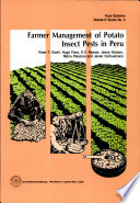 Farmer Management of Potato Insect Pests in Peru