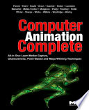 Computer Animation Complete Book