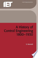 A History of Control Engineering  1800 1930