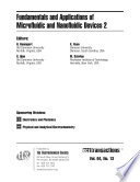 Fundamentals and Applications of Microfluidic and Nanofluidic Devices 2