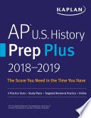 AP U S  History Prep Plus 2018 2019 Book PDF