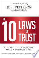 The 10 Laws of Trust