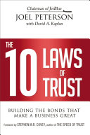 Pdf The 10 Laws of Trust