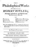 Opera, en anglois, avec notes par P. Shaw ebook