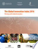 Global Innovation Index 2016
