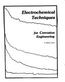Electrochemical Techniques for Corrosion Engineering