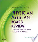 Physician Assistant Board Review E-Book