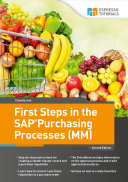 Pdf First Steps in the SAP Purchasing Processes (MM) - 2nd edition Telecharger