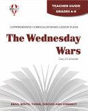 The Wednesday Wars Novel Units Teacher Guide