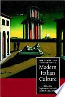 The Cambridge Companion to Modern Italian Culture