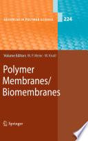 Polymer Membranes Biomembranes