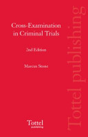 Cross Examination in Criminal Trials