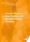 Islamic Finance Risk Sharing And Macroeconomic Stability
