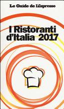 I ristoranti d'Italia 2017