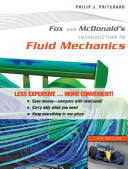 Fox And Mcdonald S Introduction To Fluid Mechanics