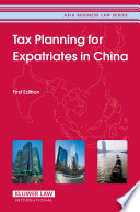 Tax Planning For Expatriates In China Book PDF