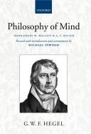 Hegel  Philosophy of Mind