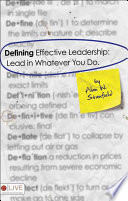 Defining Effective Leadership