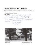History of a College from Woman s Course to Home Economics to Human Ecology