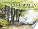 Creating Textured Landscapes with Pen  Ink and Watercolor Book