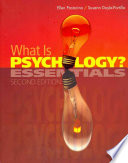 What Is Psychology Essentials