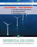 Differential Equations an Introduction to Modern Methods and Applications 2E Binder Ready Version with Wp Sa 5. 0