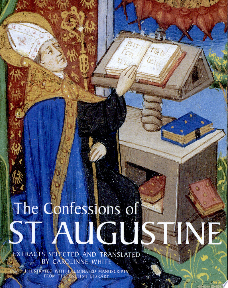 The Confessions of St. Augustine banner backdrop