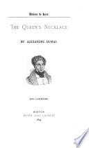 Romances  The queen s necklace Book