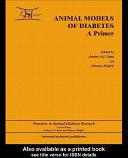 Animal Models in Diabetes