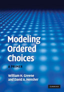Modeling Ordered Choices