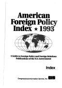 American Foreign Policy Index