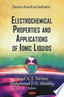 Electrochemical Properties and Applications of Ionic Liquids
